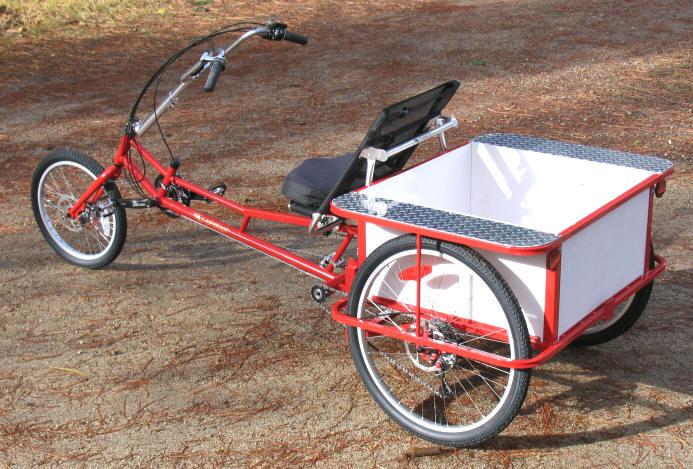 Велосипеды грузовые трехколесные своими руками 28